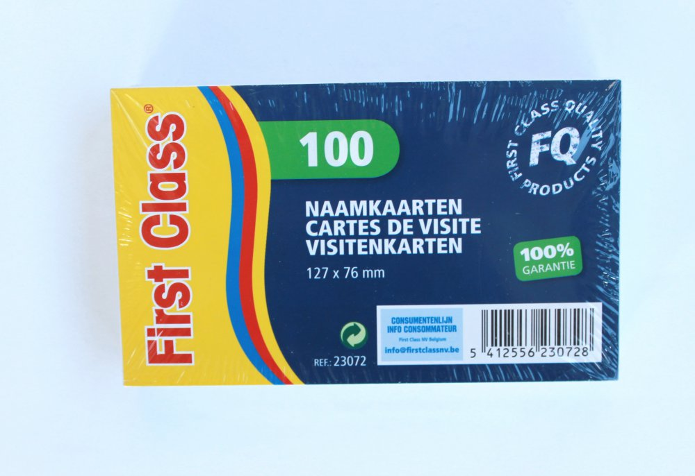 CARTES DE VISITE 100 Pcs